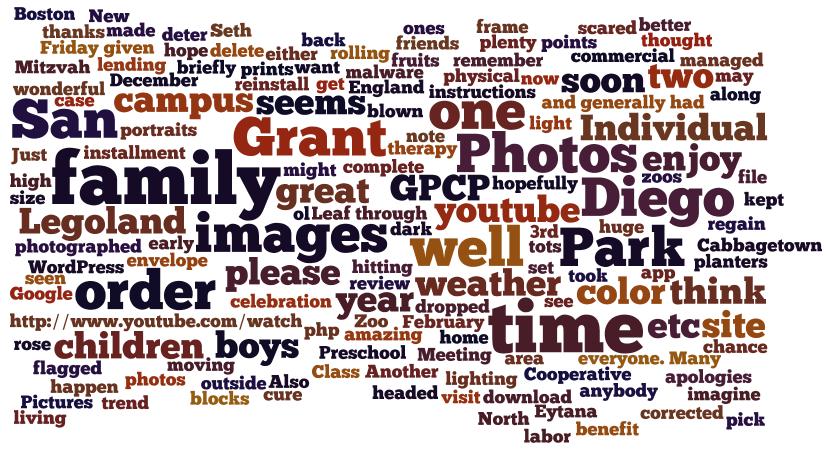 2010 Wordle